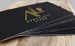 Audacious Lives Business Cards