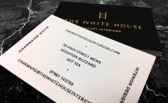 The White House Business Cards
