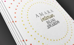 Amara Interiors Blog Award Goodie Bag Tag